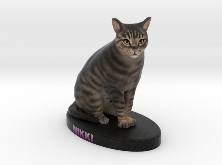Custom Cat Figurine - Nikki 3d printed