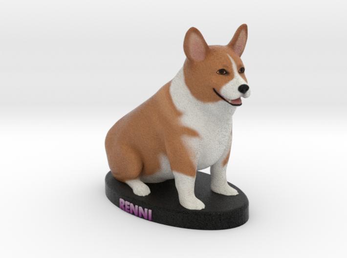Custom Dog Figurine - Renni 3d printed