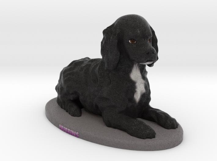Custom Dog Figurine - Sable 3d printed