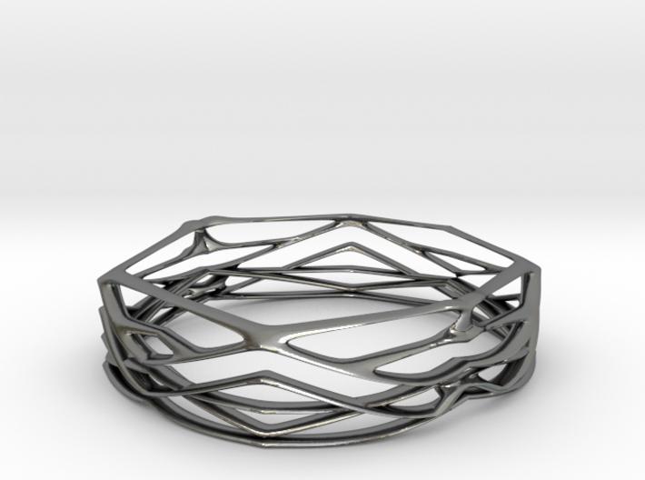 Bone Bangle 3d printed