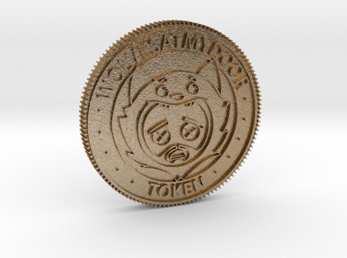 Wolvesatmydoor - Unofficial Token 3d printed