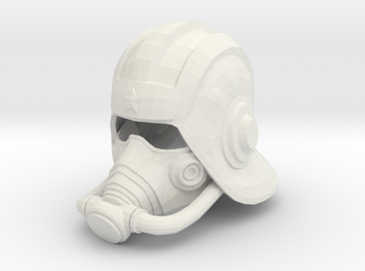 Sub Zero Tundra Mask & Helmet 3d printed
