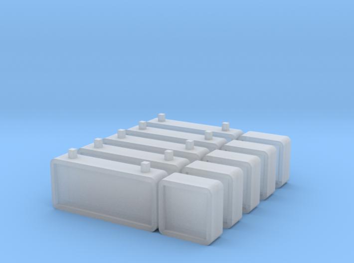 5 NS perronborden (n-scale) 3d printed
