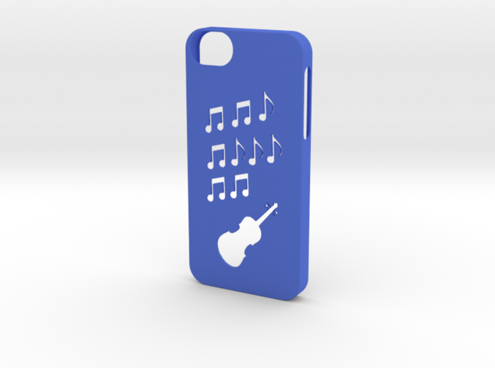 Iphone 5/5s music case 3d printed
