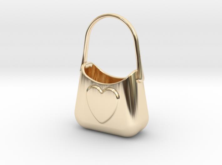 Bag Of Love 3d printed