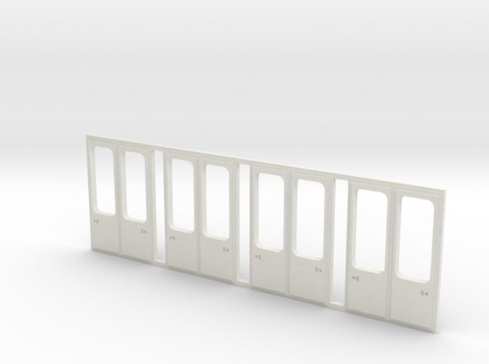 Tatra KT4D Türen modernisiert 3d printed