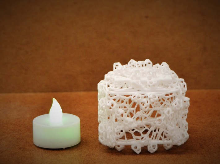 Tealight Cover 3d printed