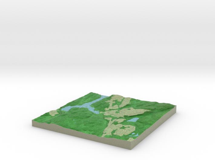 Terrafab generated model Tue Aug 18 2015 21:20:18 3d printed