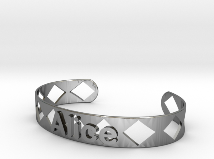 Bracelet Alice 12mm 3d printed