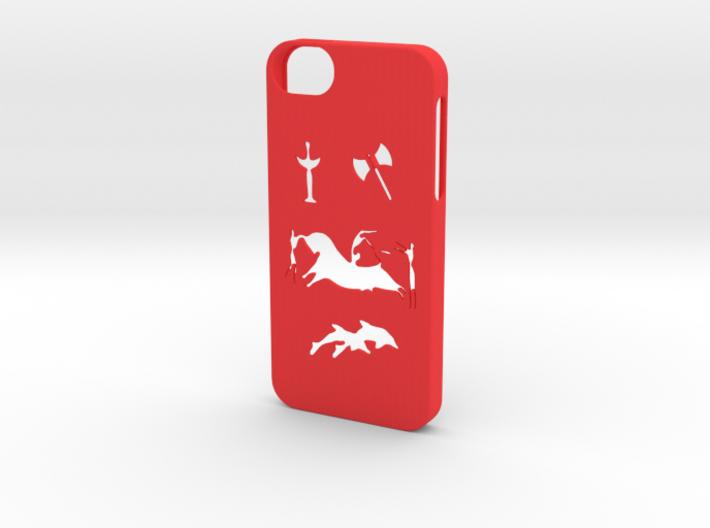 Iphone 5/5s minoan civilization case 3d printed