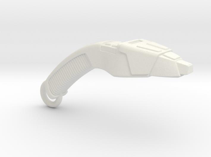 Next Generation phaser Charm, Bracelet, Earring. 3d printed