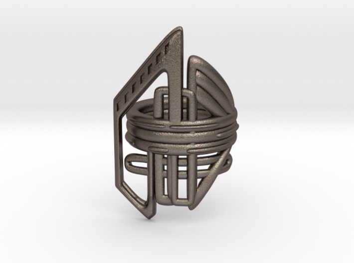 Balem's Ring2 - US-Size 9 (18.89 mm) 3d printed