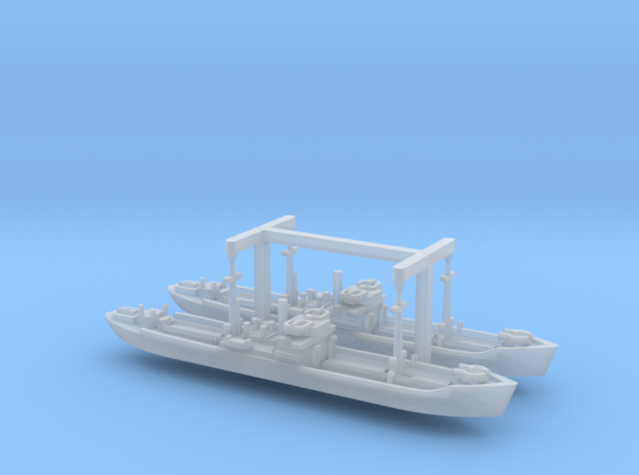 German WWII Hansa Type 3000to Freighter 1/2400 3d printed