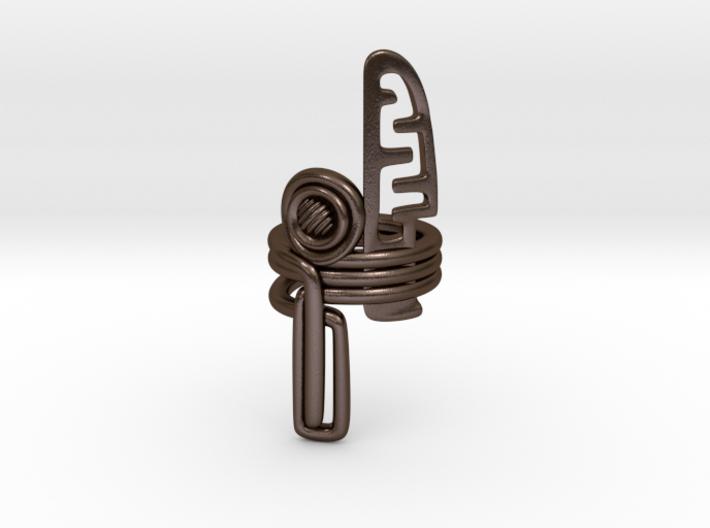 Balem's Ring3 - US-Size 10 1/2 (20.20 mm) 3d printed