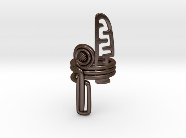 Balem's Ring3 - US-Size 9 (18.89 mm) 3d printed