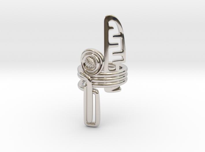 Balem's Ring3 - US-Size 12 1/2 (21.89 mm) 3d printed