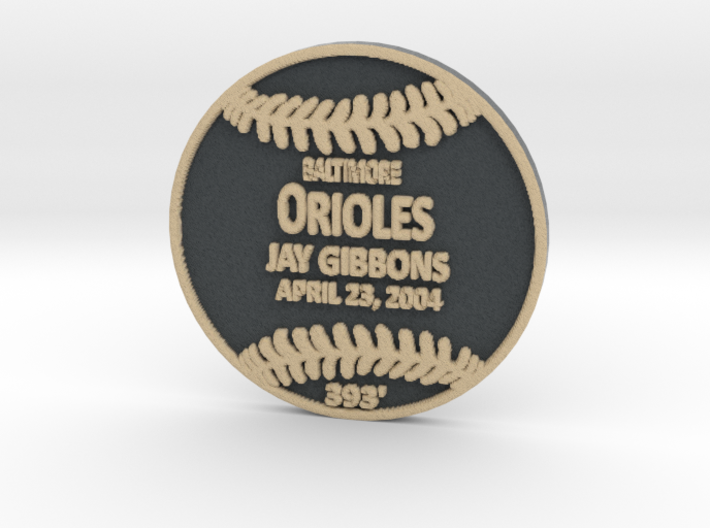 Jay Gibbons2 3d printed