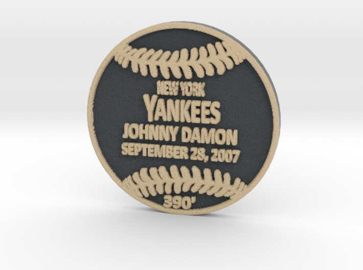 Johnny Damon 3d printed