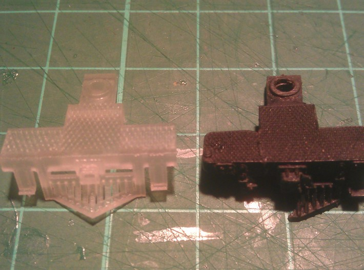 2 N Scale Atlas 4-6-2 Pilots (No Couplings) 3d printed 1st print & original pilot.