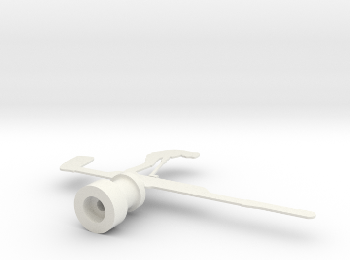 Golfer Drive Wind Vane  3d printed