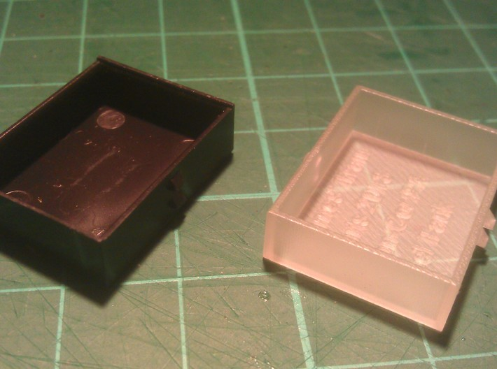 N Scale Con Cor PA Fuel Tank 1:160 3d printed Original and 1st Print.