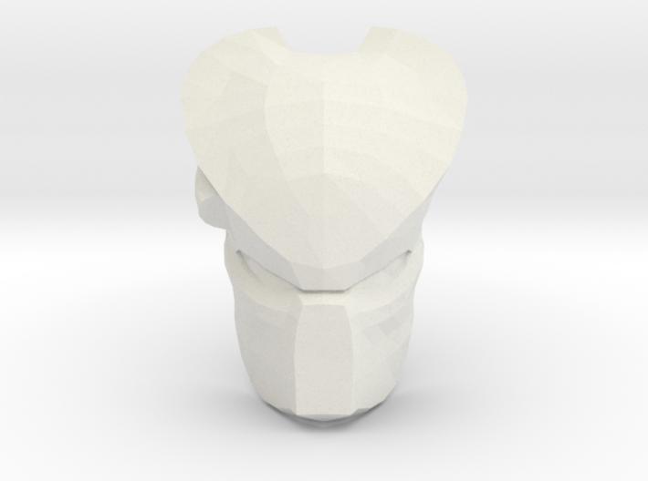 Predator Mask W/ Visor 3d printed