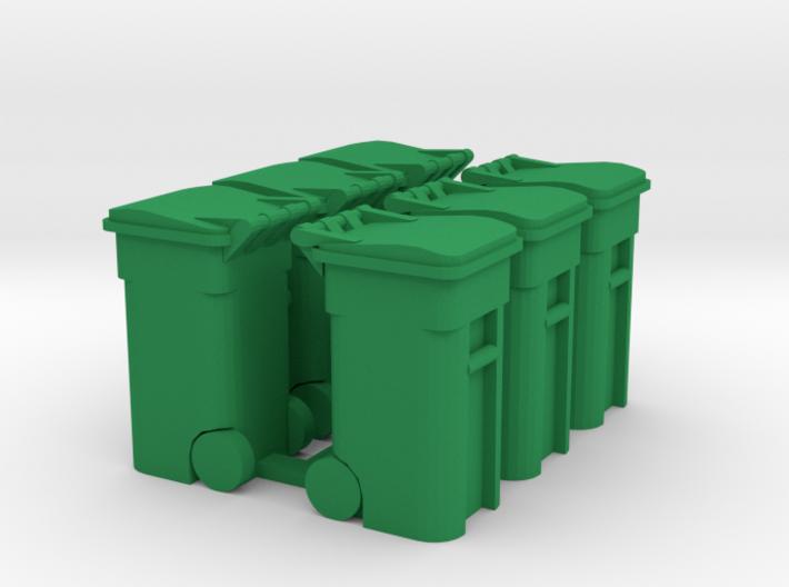 Trash Cart (6) Closed- 'O' 48:1 Scale 3d printed