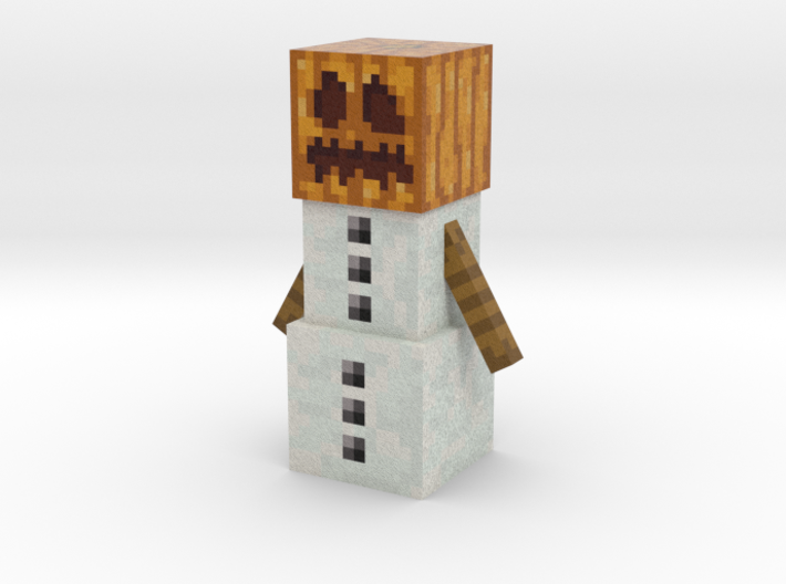 Snow Golem 3d printed