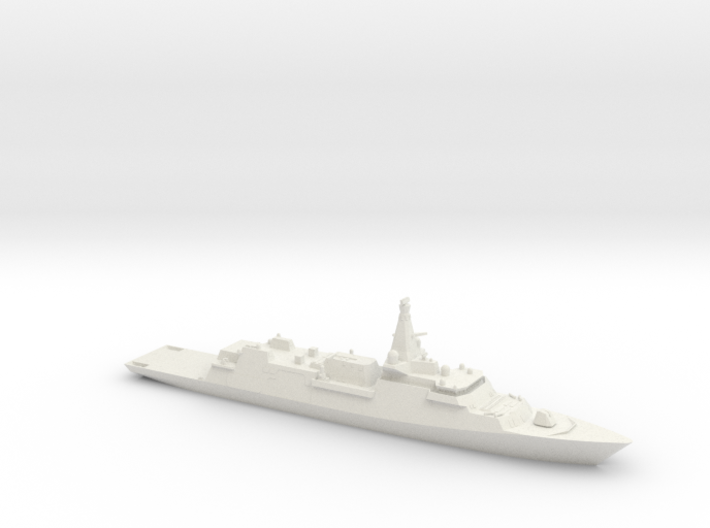 Type 26 Global Combat Ship 3d printed
