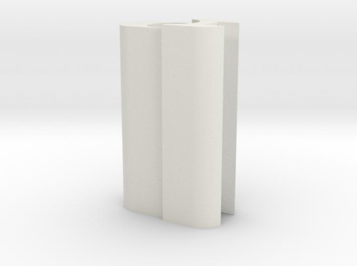 Saber Tube Holder 3d printed