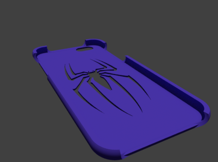 Black Spider iPhone 6 case  3d printed