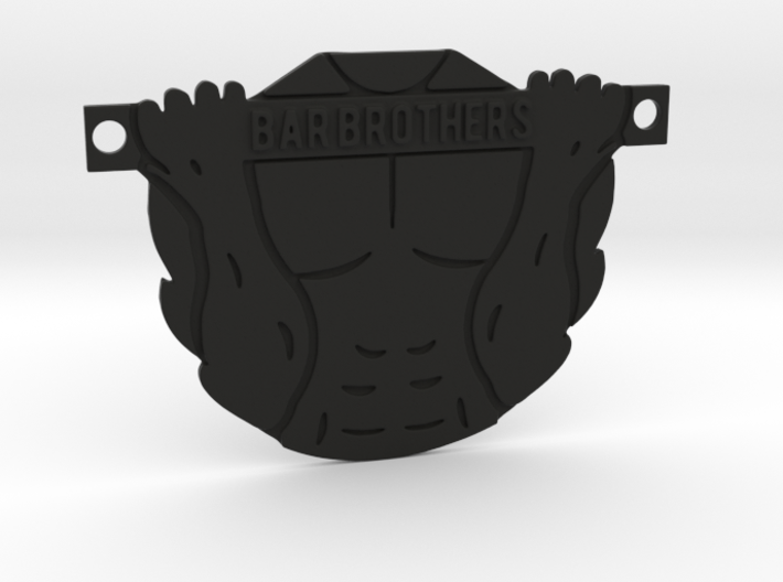 Bar Brothers pendant 3d printed