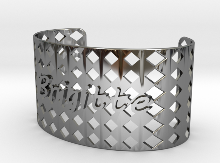 Bracelet Brigitte 37 mm 3d printed