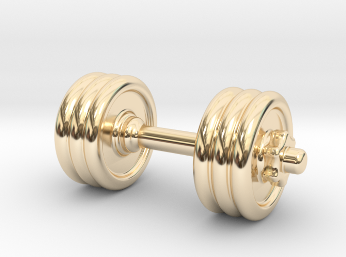 Dumbbell Without Hook 3d printed