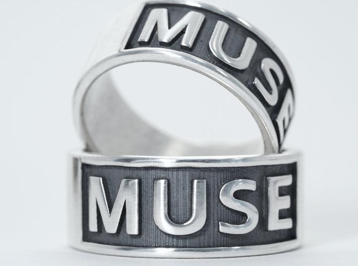 Muse Band Ring 3d printed