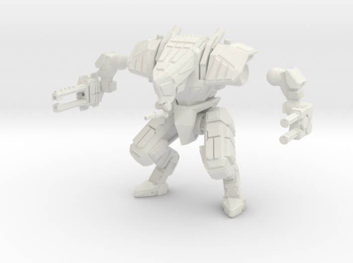 28mm scale mech - Guardian 3d printed