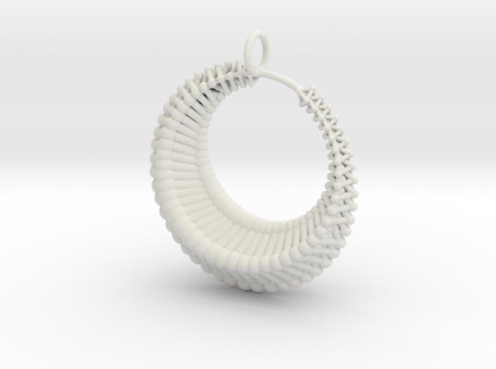 Luna1 pendant 3d printed