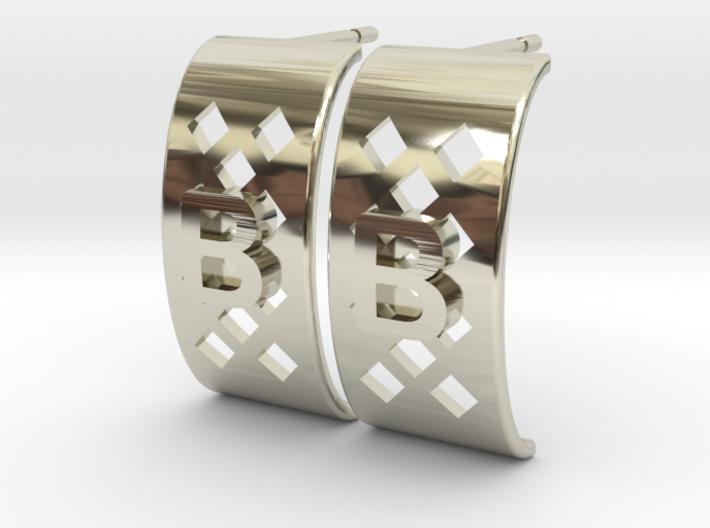 Boucles d'oreille Brigitte 10mm 3d printed
