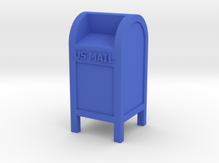 Mail Box - 'O' 48:1 Scale 3d printed