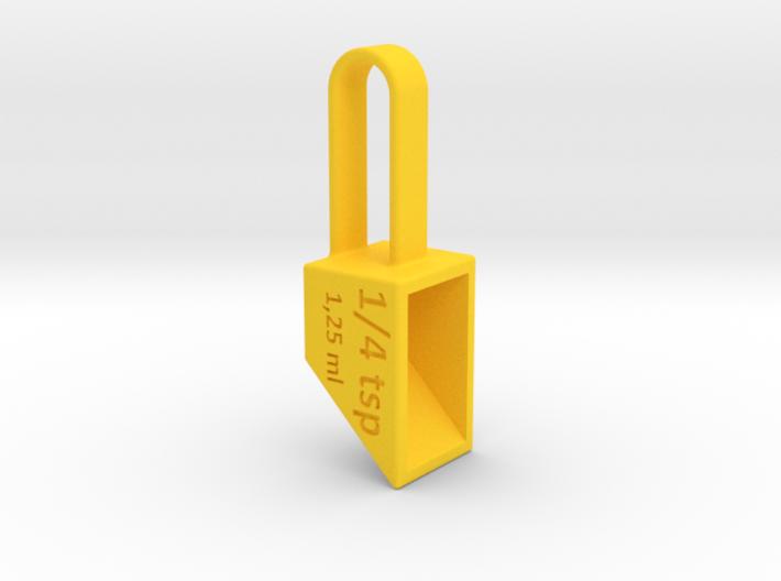 Pendant Teaspoon 1/4 tsp 3d printed