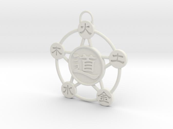 """Five Elements"" Trinket 3d printed"