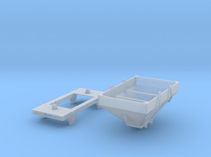Q Wagon120 3d printed