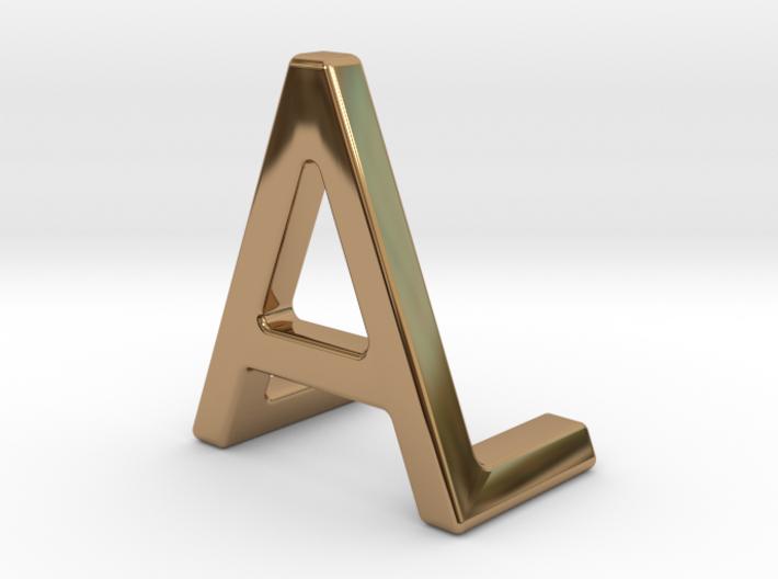 AL LA - Two way letter pendant 3d printed