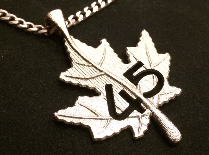 Canadian maple leaf pendant s75c8vfed by jrdesigns canadian maple leaf pendant 3d printed canadian maple leaf pendant aloadofball Gallery