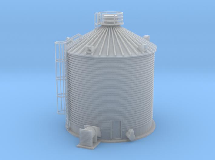 Single Corn Silo Z Scale 3d printed Corn storage Silo Z scale