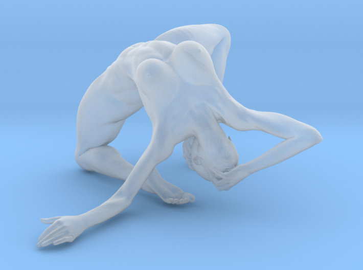 1:24 Strong Woman 002 3d printed