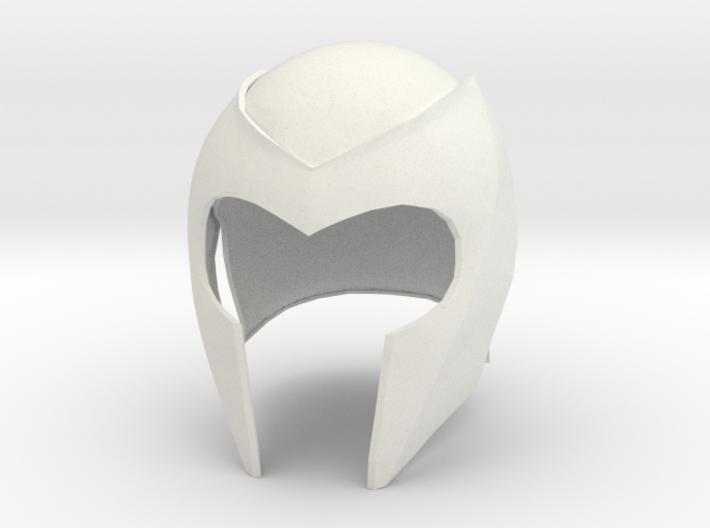Magneto helmet from X-Men 1 movie 3d printed