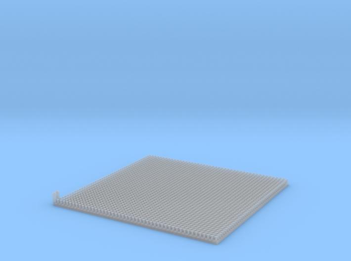 Scale Model Rivets.  2070x 0.65mm Straight Rivets 3d printed