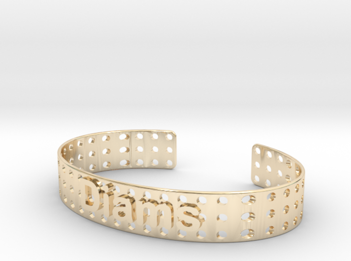 Bracelet Diams 12mm 3d printed