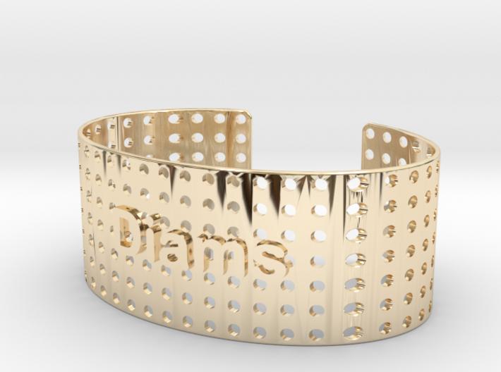 Bracelet Diams 28mm 3d printed